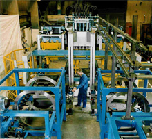 Automated High Pressure Green Sand Moulding