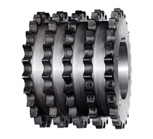 Quintuple chain wheel