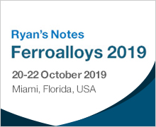 25th CRU Ryan's Notes Ferroalloys Conference 2019