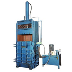 Paper and Plastic Scrap Baler