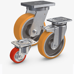 Electrically Conductive VULKOLLAN® Wheels