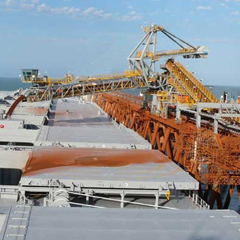 Shiploader PL100 location: Cape Lampert, Australia